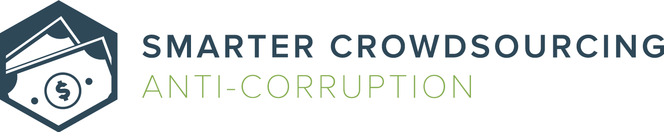 Smarter Crowdsourcing | Anti-Corruption Logo